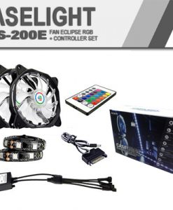 Fan eclipse RGB + controller set cls-200E